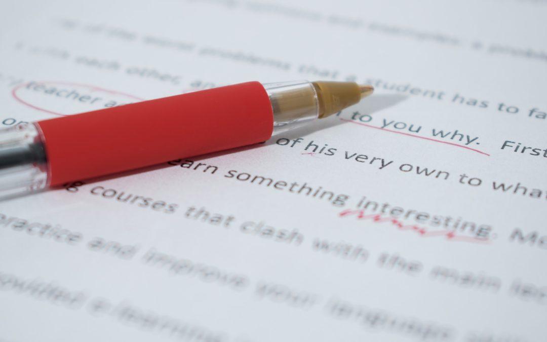 Revisa y cuida la ortografía de tus textos